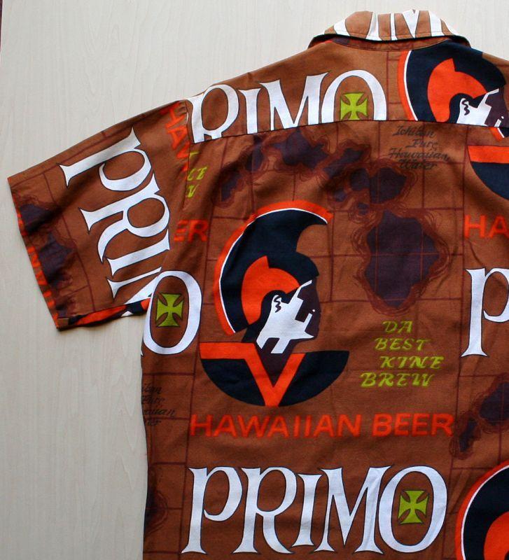 画像4: ◆Vintage アロハシャツ【PRIMO】 MLサイズ