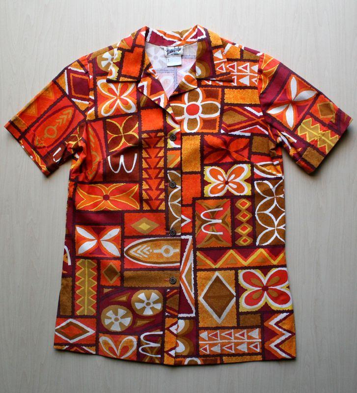 画像1: ◆Vintage アロハシャツ【McDonald's】 MLサイズ