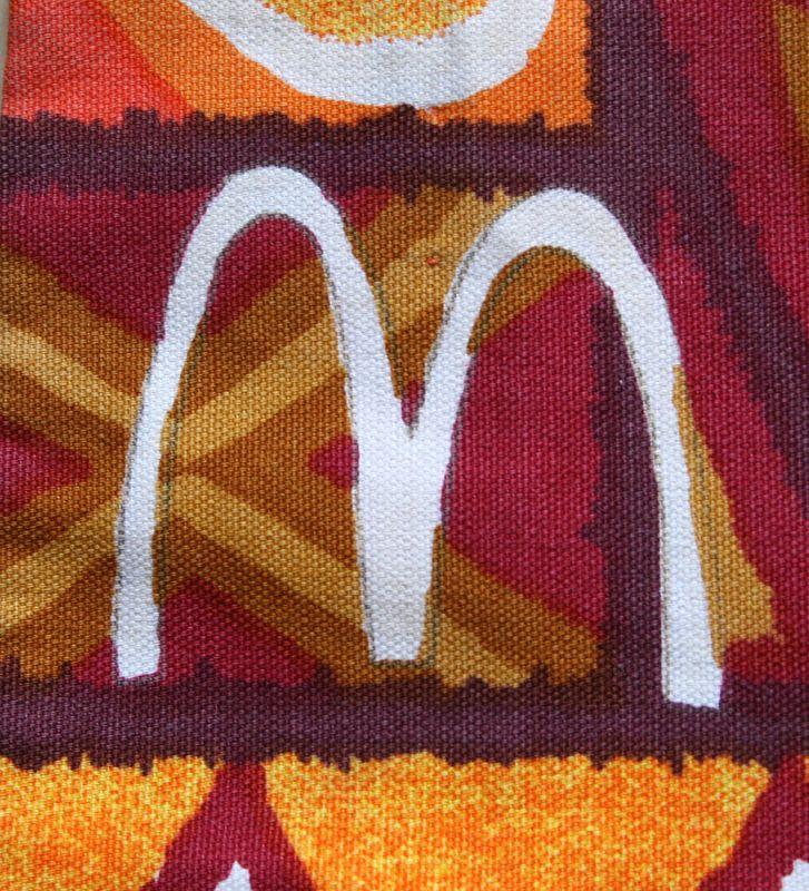 画像2: ◆Vintage アロハシャツ【McDonald's】 MLサイズ