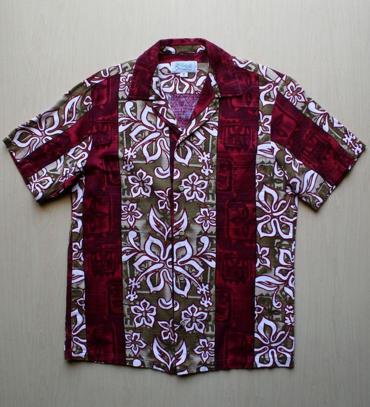 画像1: ◆Vintage アロハシャツ【made in HAWAII】 Sサイズ