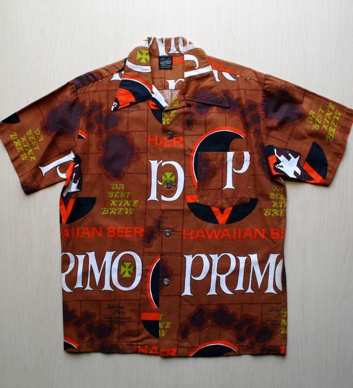 画像1: ◆Vintage アロハシャツ【PRIMO】 MLサイズ