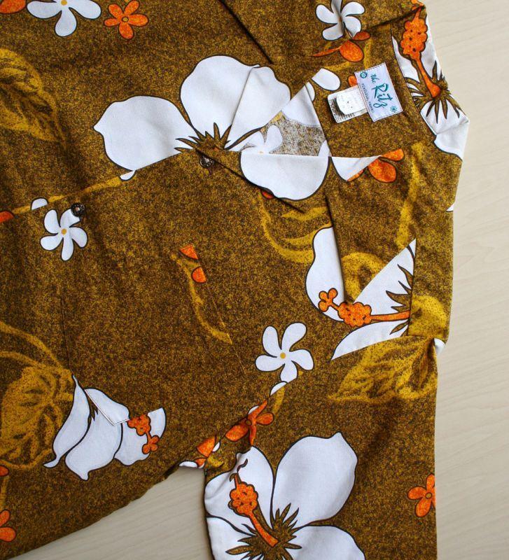 画像4: ◆Vintage アロハシャツ【made in HAWAII】 Mサイズ