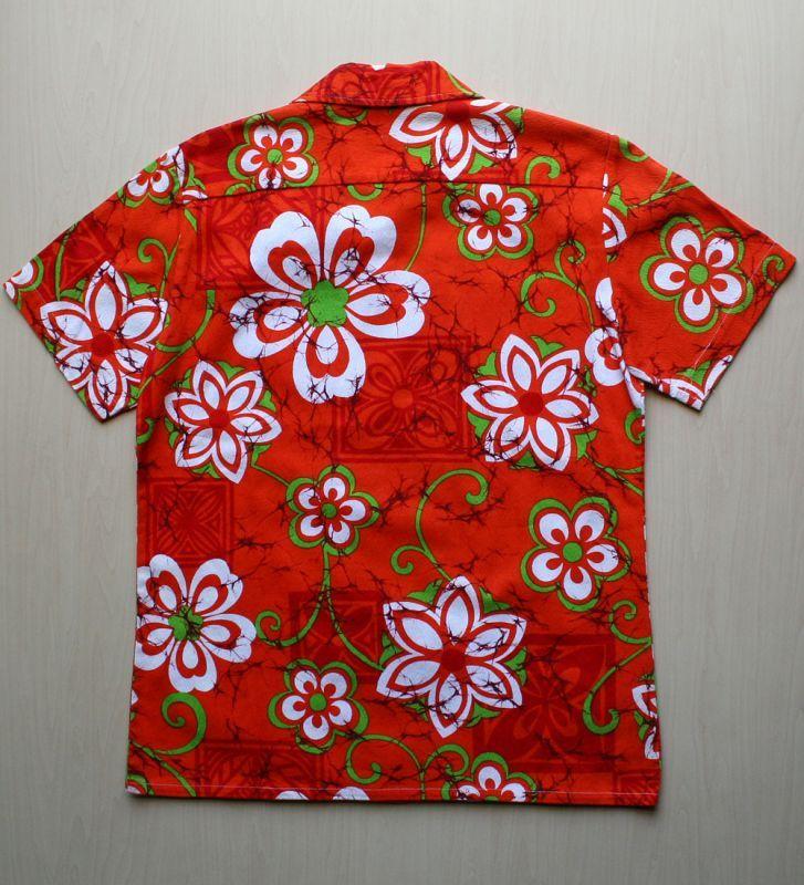 画像5: ◆Vintage アロハシャツ【made in HONG KONG】 Mサイズ
