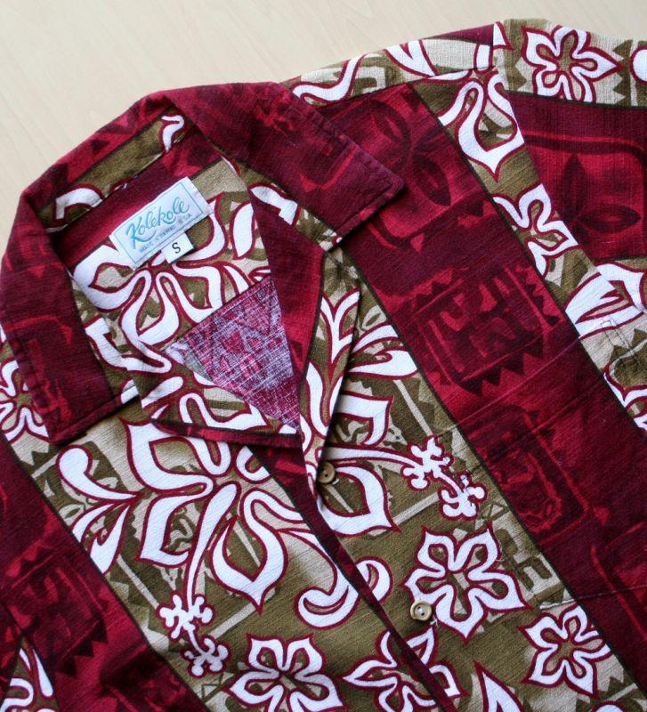 画像4: ◆Vintage アロハシャツ【made in HAWAII】 Sサイズ
