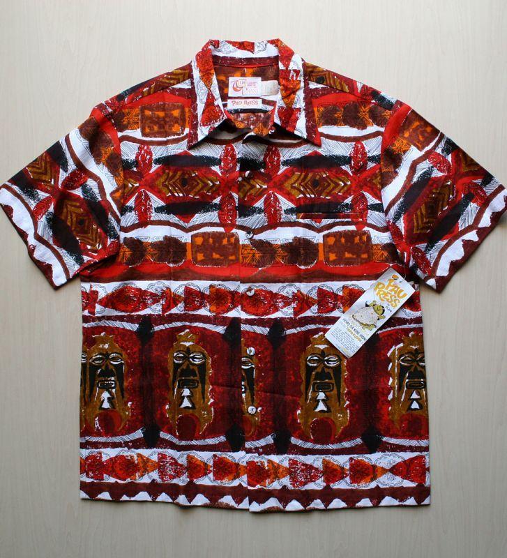 画像1: ◆Vintage アロハシャツ【デッドストック】 Lサイズ