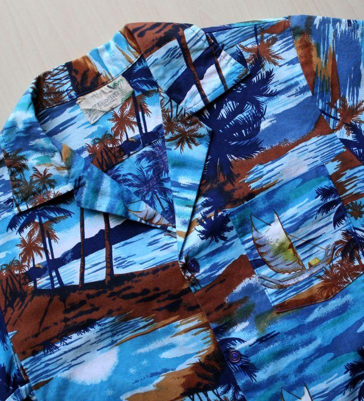画像5: ◆Vintage アロハシャツ【made in CALIFORNIA】 Sサイズ