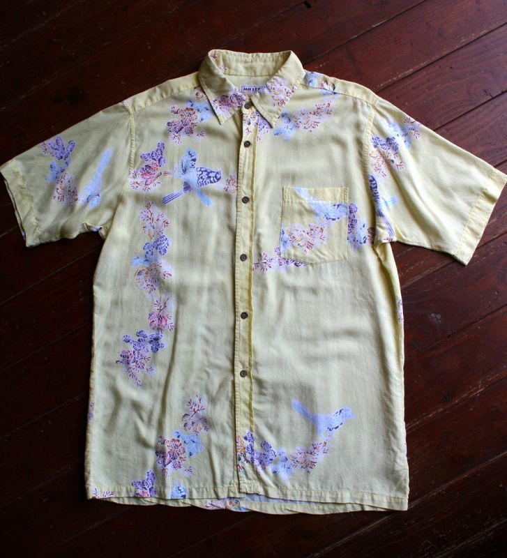 画像1: ◆Vintage Bali Shirts【made in JAPAN】 MLサイズ
