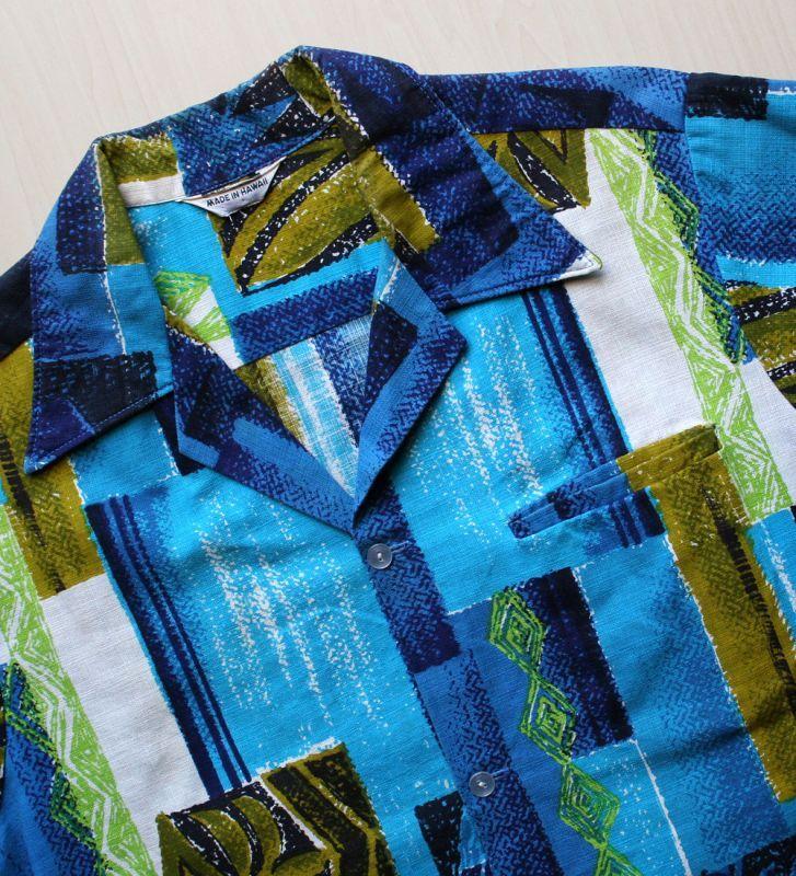 画像5: ◆Vintage アロハシャツ【made in HAWAII】 Mサイズ