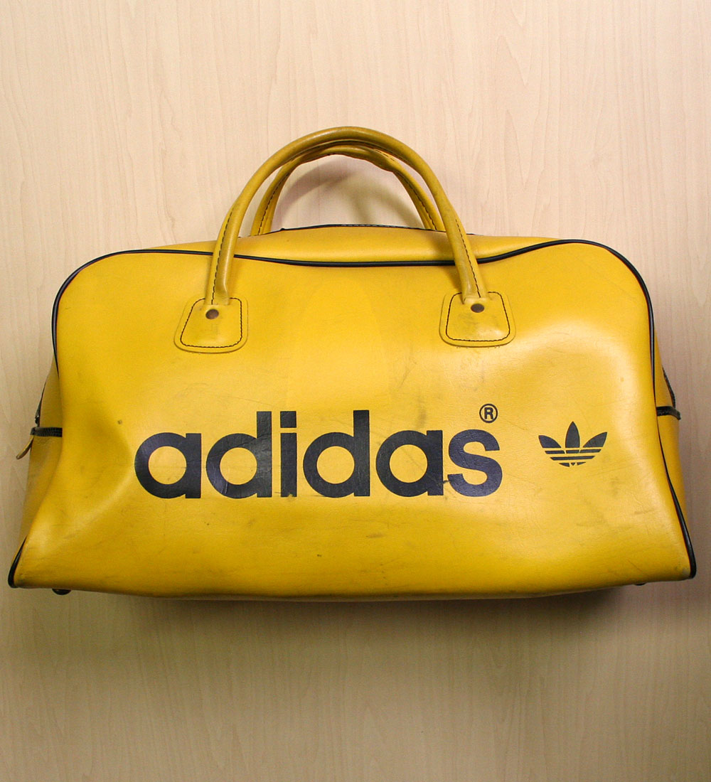 画像1: ◆70sヴィンテージadidas 【Tiger Color】Gym Bag