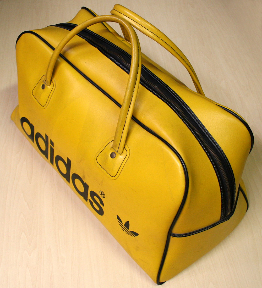 画像2: ◆70sヴィンテージadidas 【Tiger Color】Gym Bag