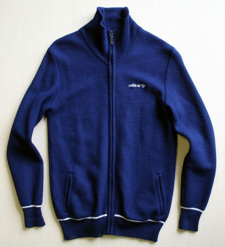画像1:  ◆70sヴィンテージadidas【オーストリア製】ニットジャケット