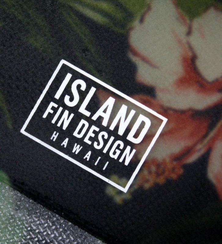 """画像3: ◆ISLAND FIN DESIGN ブラックALOHA Fin 10"""""""