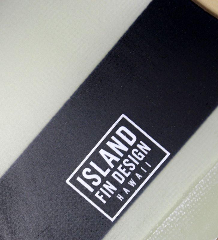 """画像3: ◆ISLAND FIN DESIGN ブラックBOADER Fin 9.5"""""""