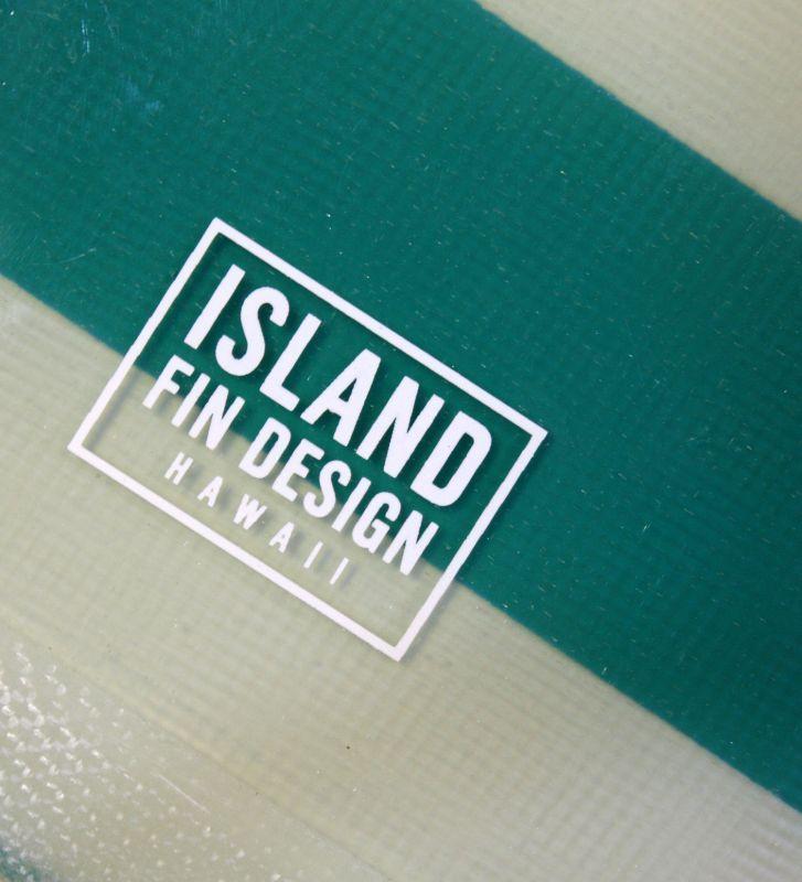 """画像3: ◆ISLAND FIN DESIGN グリーンBOADER Fin 9.5"""""""