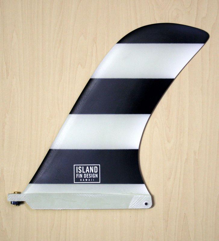 """画像1: ◆ISLAND FIN DESIGN ブラックBOADER Fin 9.5"""""""