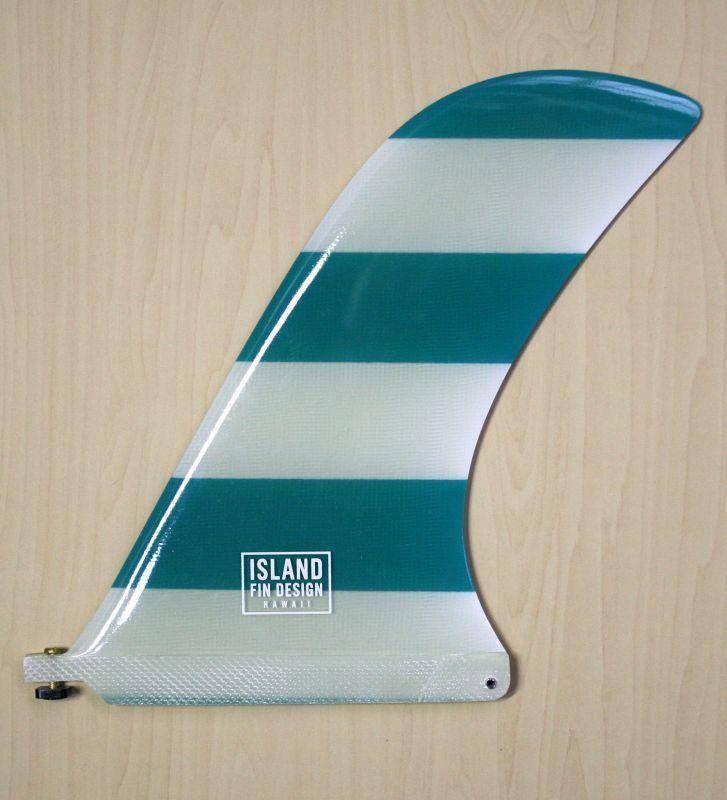 """画像1: ◆ISLAND FIN DESIGN グリーンBOADER Fin 9.5"""""""
