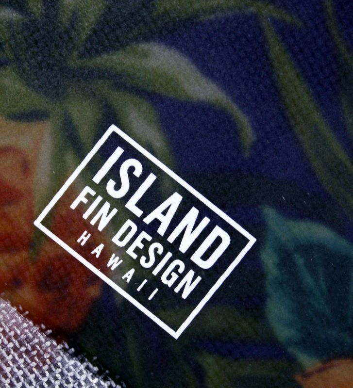 """画像3: ◆ISLAND FIN DESIGN ネイビーALOHA Fin 9.5"""""""
