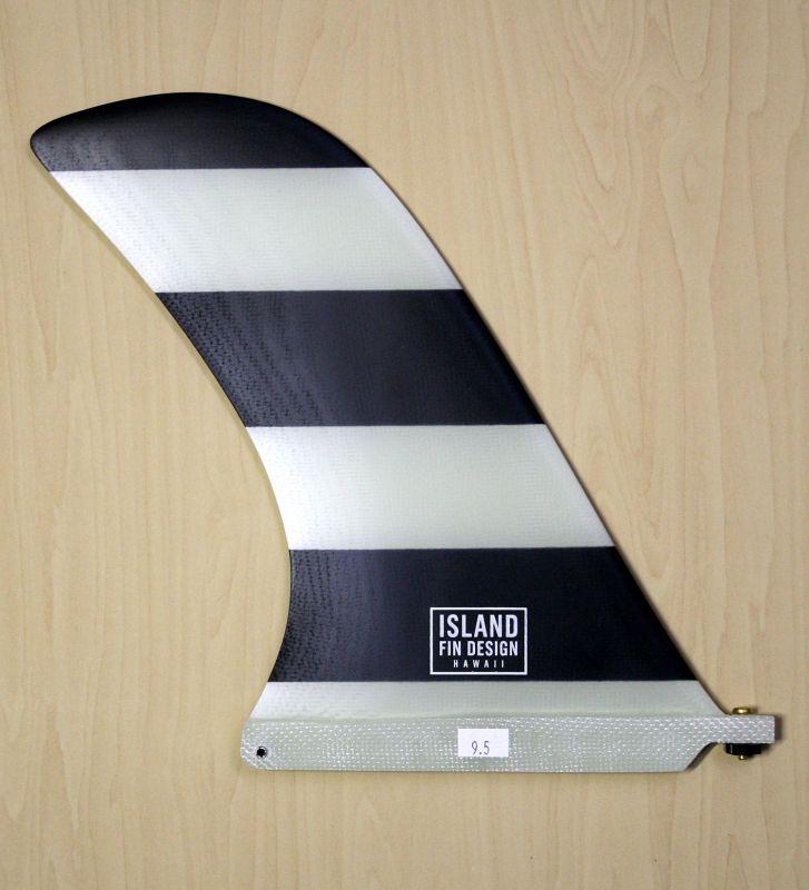 """画像2: ◆ISLAND FIN DESIGN ブラックBOADER Fin 9.5"""""""