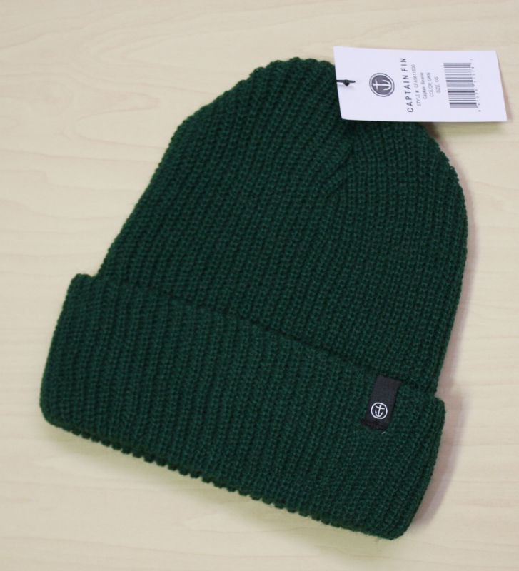 画像1: ◆CAPTAIN FIN Beanie 【made in USA】Green