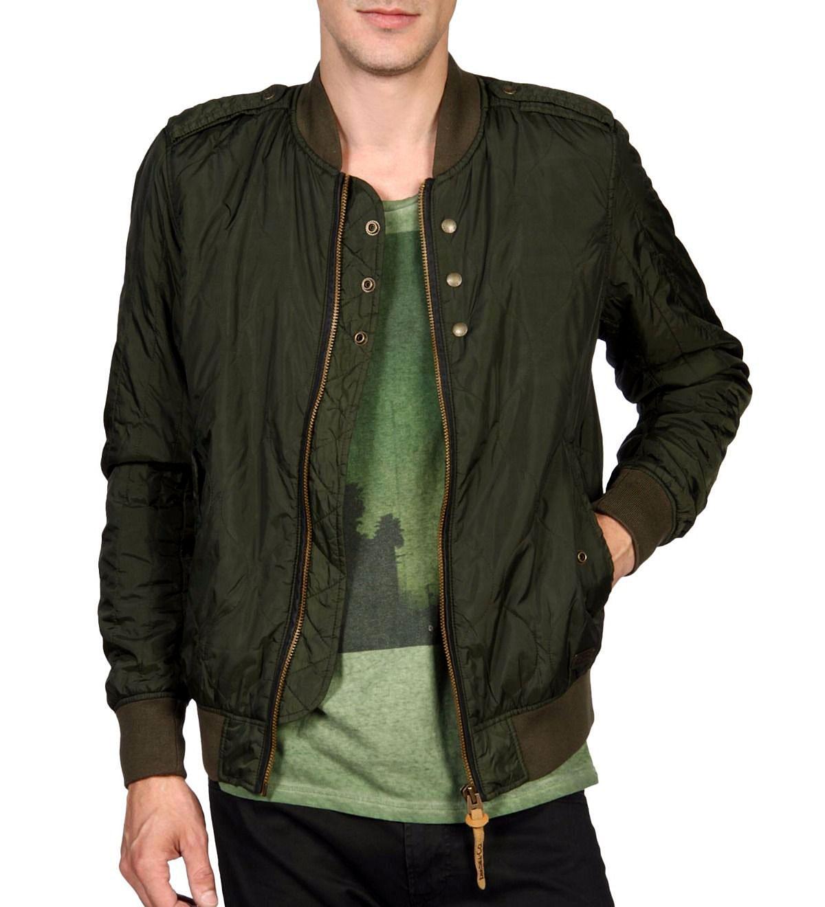 画像1: ◆Diesel bomber jacket 【ミリタリー・オリーブ】 Mサイズ