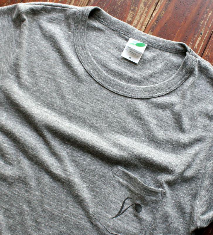 画像4: ◆Simple is Best ポケットTシャツ【ヘザーグレー】全国送料無料S・M・Lサイズ