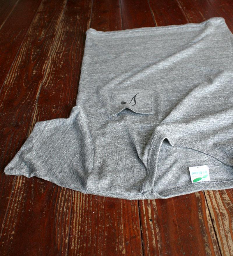 画像5: ◆Simple is Best ポケットTシャツ【ヘザーグレー】全国送料無料S・M・Lサイズ