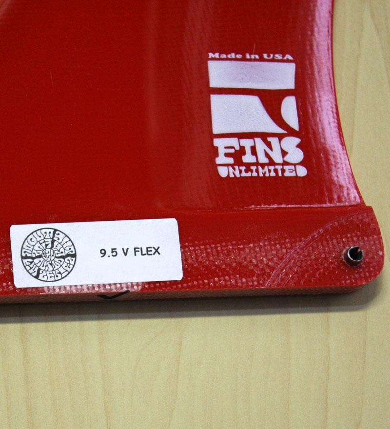 """画像3: ◆Fins Unlimited Joel Tudor V Flex Fin 9.5"""""""