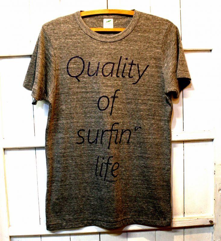 画像1: ◆QOSL Tシャツ限定!【ヘザーグレー】XS・S・M・L・XLサイズ