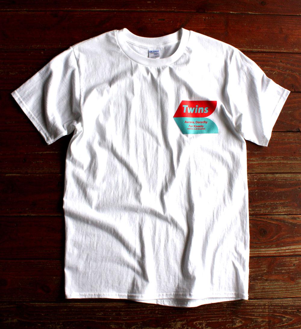 画像1: ◆Twins for Kneelo Tシャツ【全国送料無料】S・M・L・XLサイズ