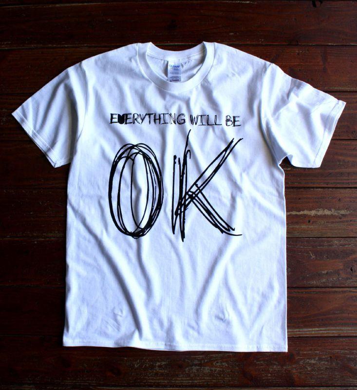 """画像1: ◆simple is best """"OK"""" Tシャツ【全国送料無料】S・M・L・XLサイズ"""