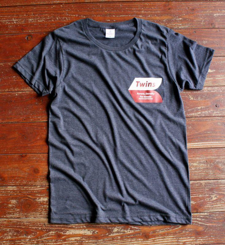 画像1: ◆Twins for Kneelo Tシャツ【全国送料無料】GM・S・M・L・XLサイズ