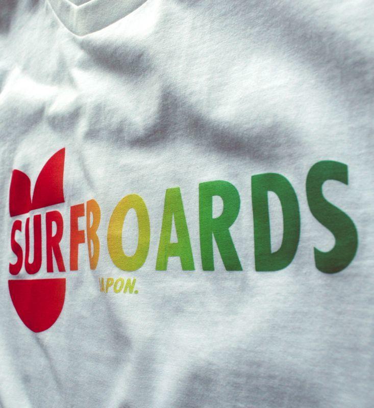 """画像3: ◆VANVES SURFBOARDS """"Rainbow"""" Tシャツ【全国送料無料】"""