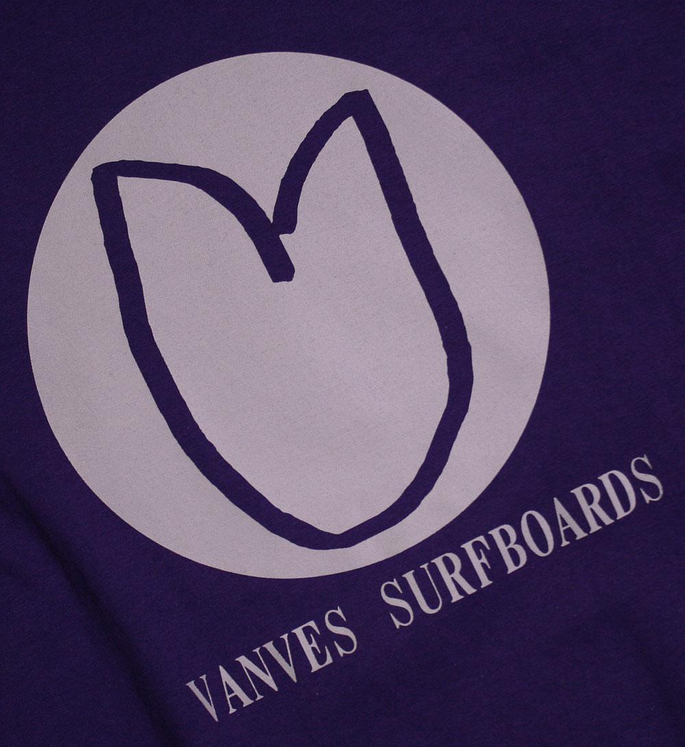 画像2: ◆2020 VANVES SURFBOARDS Tシャツ【全国送料無料】パープル