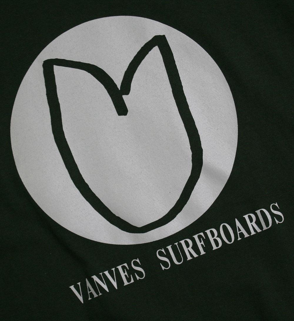 画像2: ◆2020 VANVES SURFBOARDS Tシャツ【全国送料無料】フォレストグリーン