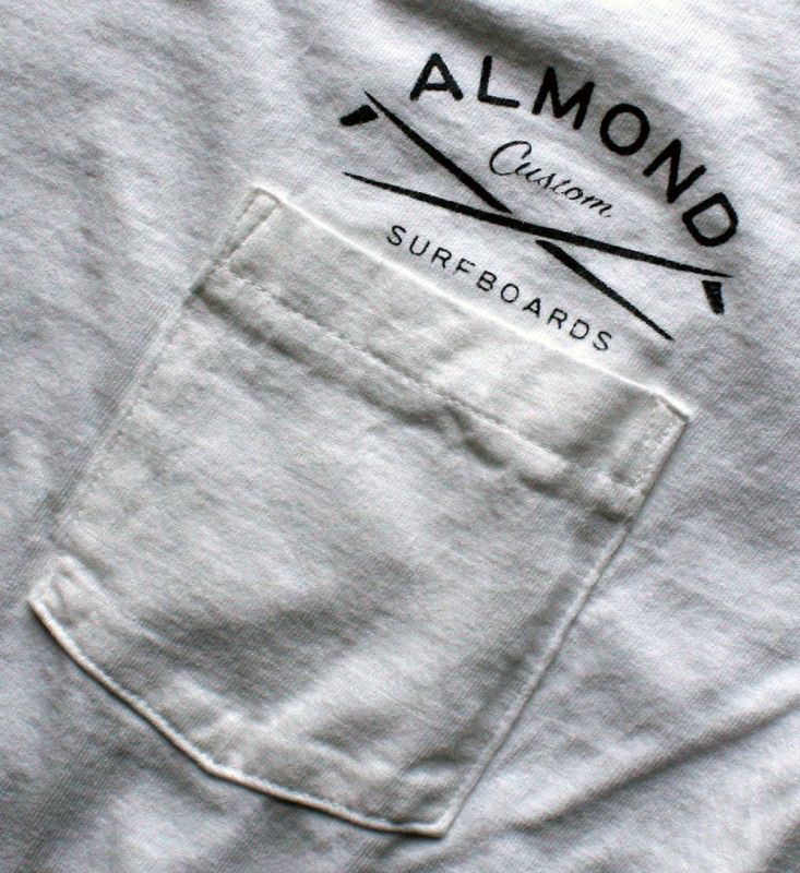 画像2:  ◆ALMOND pocket Tee 白