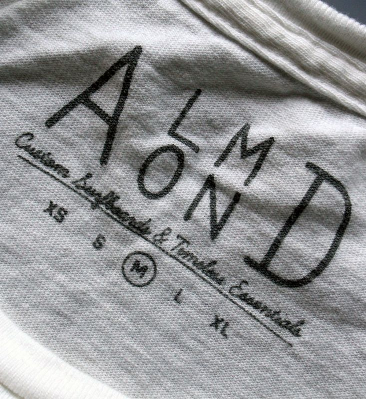 画像4:  ◆ALMOND pocket Tee 白