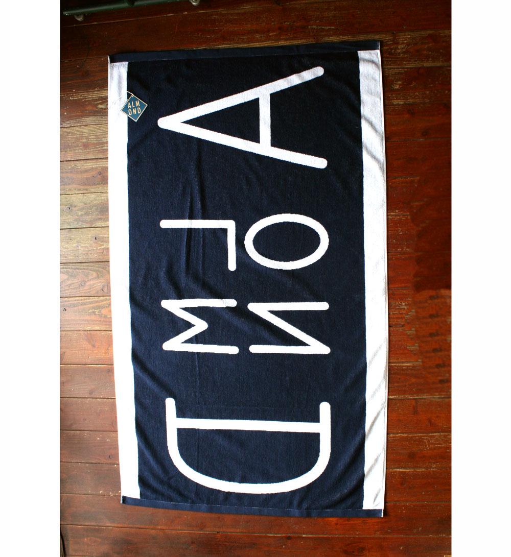 画像3:  ◆ALMOND ジャガード ビーチタオル