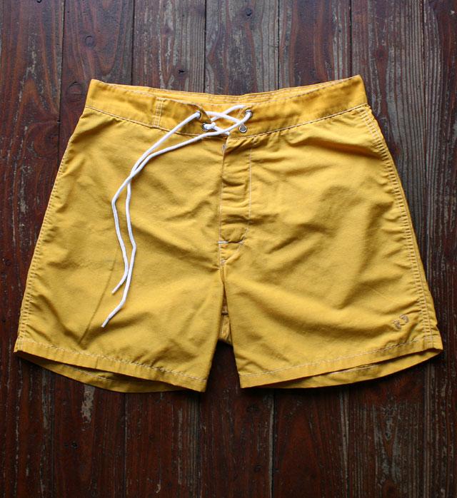 画像1:  ◆1970s HANG TEN trunks マスタード