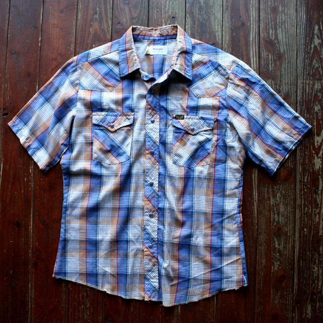 画像1: ◆Wrangler【アメリカ製】チェックシャツ