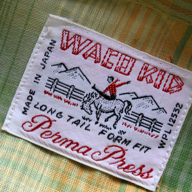 画像2: ◆WACO KID デッドストック【日本製】ウエスタンシャツ
