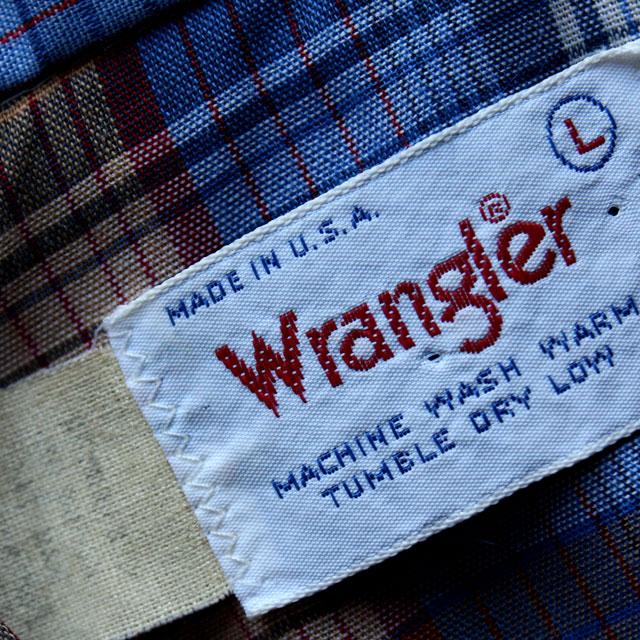画像3: ◆Wrangler【アメリカ製】チェックシャツ