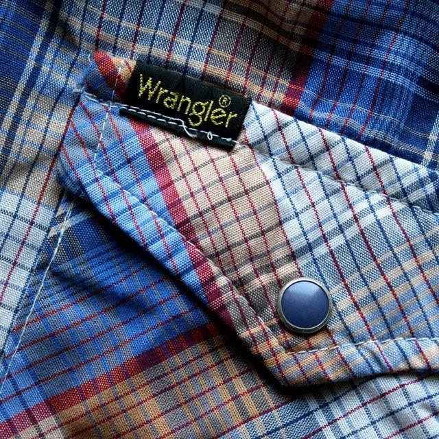 画像4: ◆Wrangler【アメリカ製】チェックシャツ