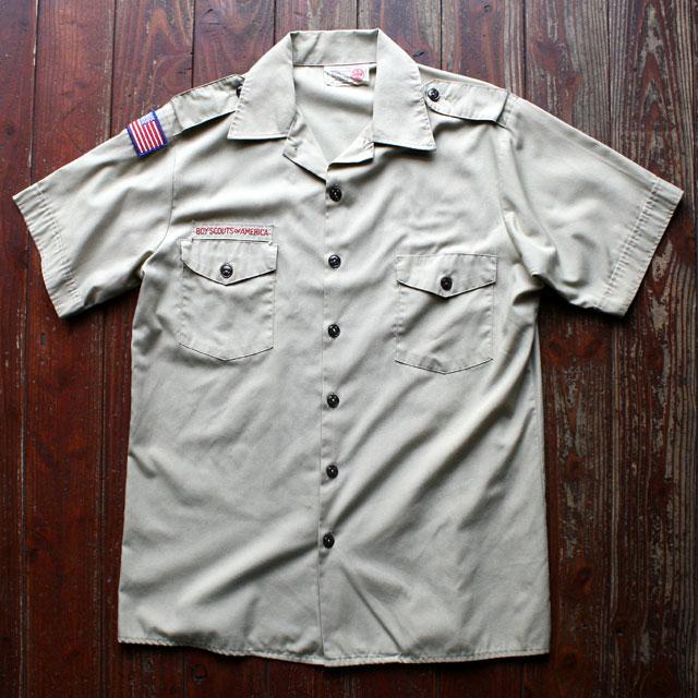 画像1: ◆offical mens shirt【アメリカ製】ボーイスカウトシャツ