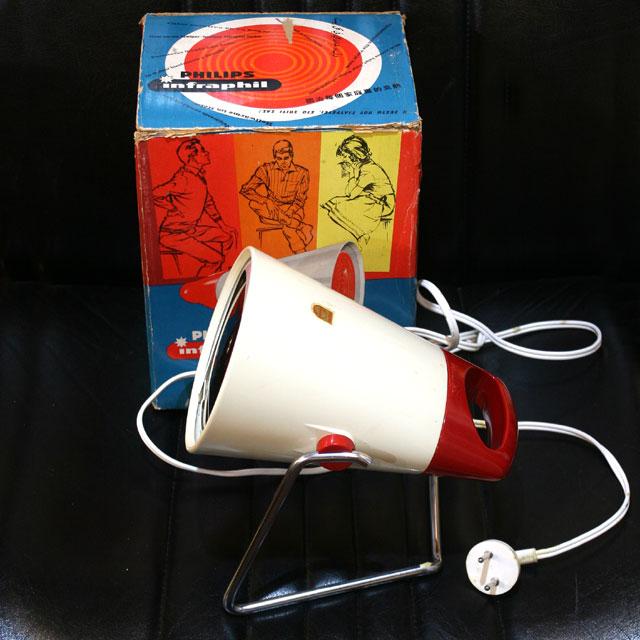 画像1: ◆1970sフィリップス 温熱治療器具 【オランダ製】デッドストック