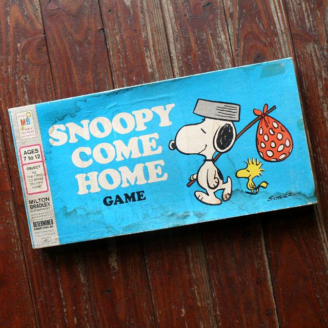 画像1: ◆アンティークSNOOPY COME HOME GAME【アメリカ製】