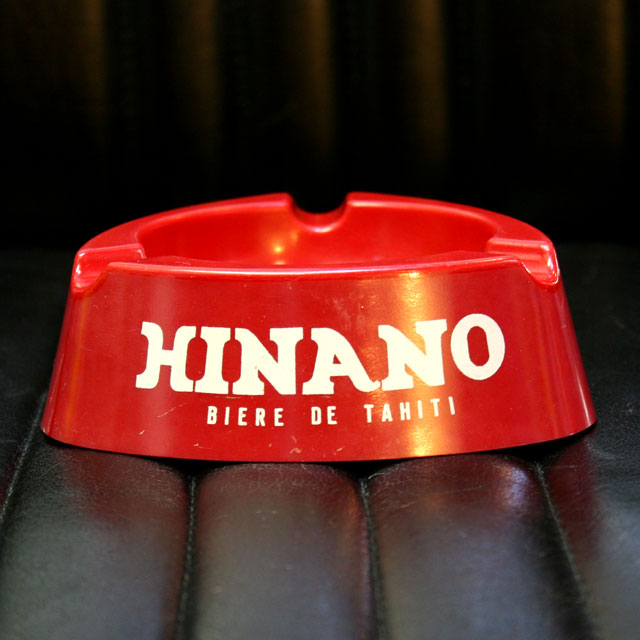 画像1: ◆アンティーク  HINANO灰皿【難あり】
