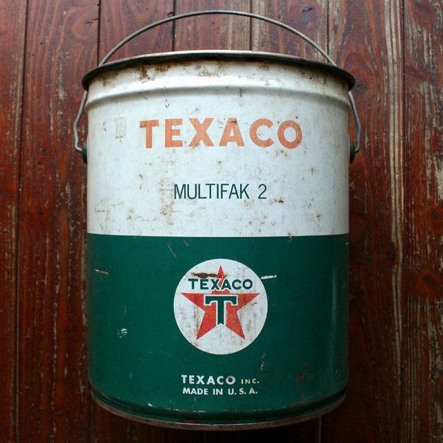 画像1: ◆アンティークTEXACO オイル缶【アメリカ製】