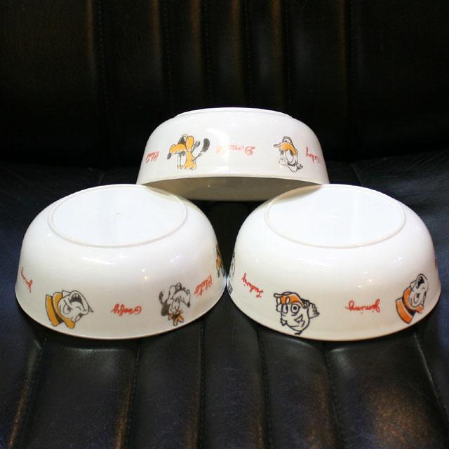 画像3: ◆1960s Disney Childrens Plastic Cereal Bowl 3set【アメリカ製】