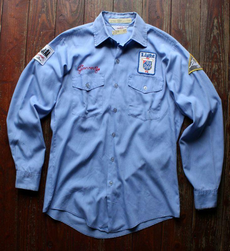 画像1: ◆70sヴィンテージ Unitogワークシャツ【アメリカ製】