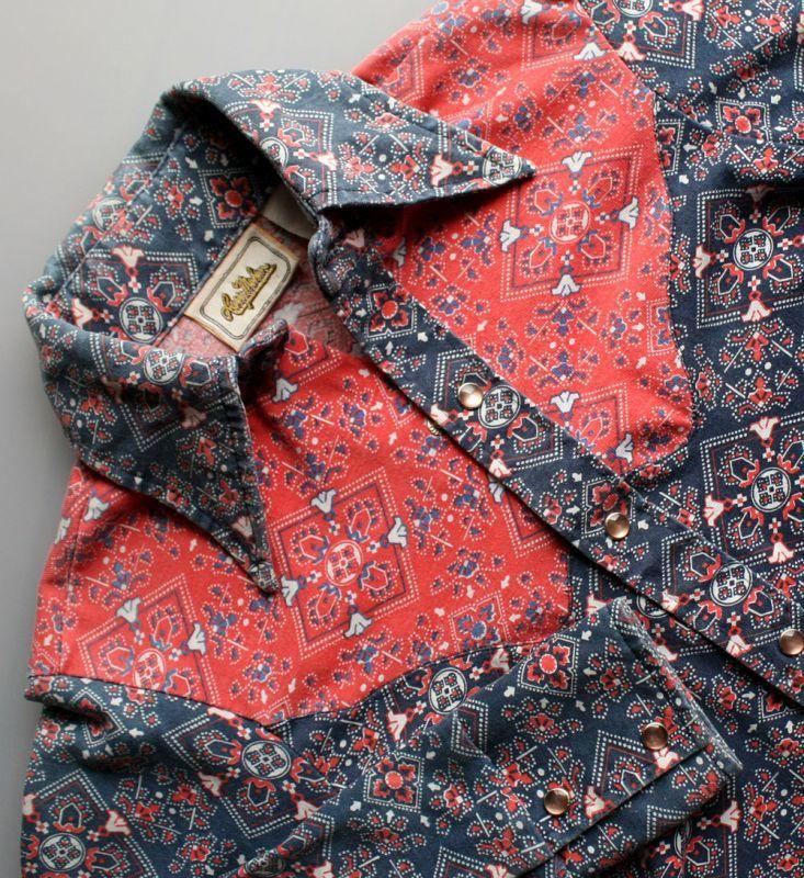 画像5: ◆Lamy Mahan ニット素材ウエスタンシャツ
